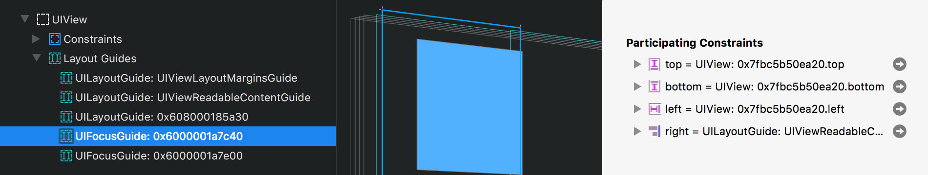 Introduction to Auto Layout Guides - Reveal